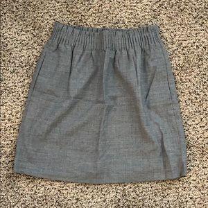 J. Crew Street Skirt with Pockets